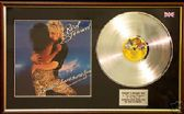 ROD STEWART- Blondes have fun - Platinum  disc & cover